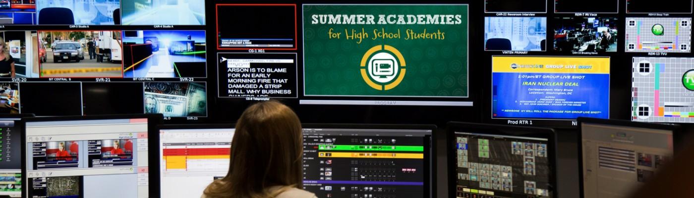Image of Summer Academies banner 4