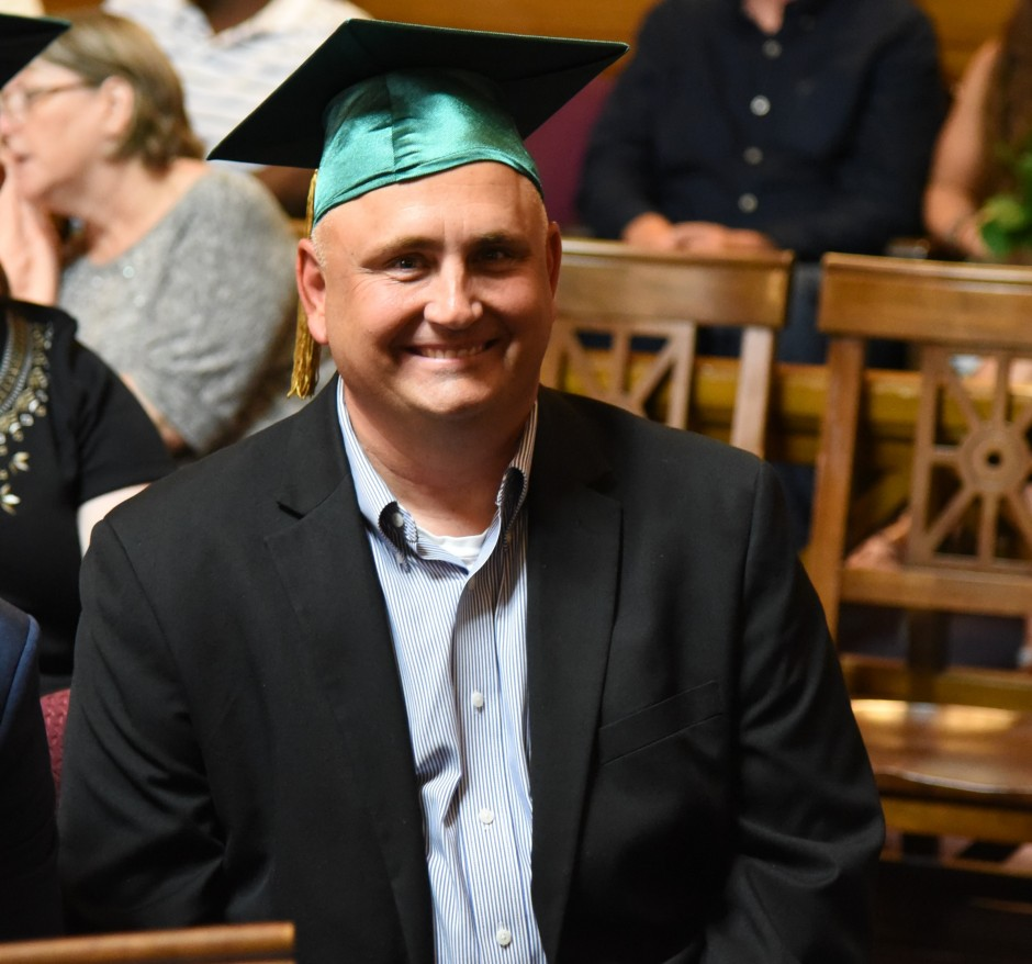 Robert Klotz earned his Graduate Certificate in Judicial Administration in 2016. (Courtesy: Herb Ong)