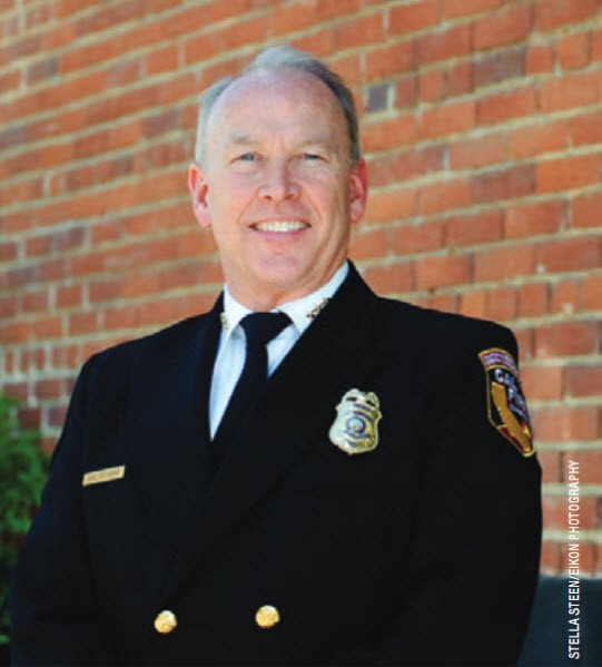 Mike Richwine, California's assistant state fire marshal