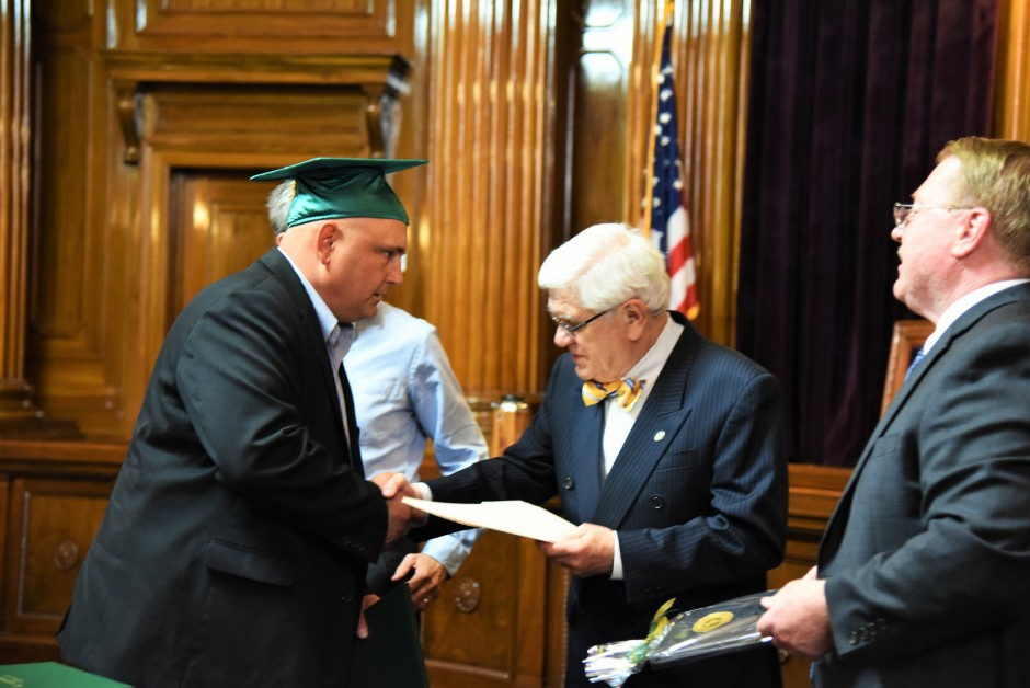 Robert Klotz, CEO of Amador County Superior Court, earned his Graduate Certificate in Judicial Administration in 2016. (Courtesy: Herb Ong)