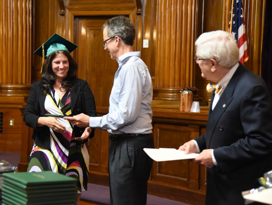Stephanie Hansel, CEO of Sutter County Superior Court, earned her Graduate Certificate in Judicial Administration in 2016. (Courtesy: Herb Ong)