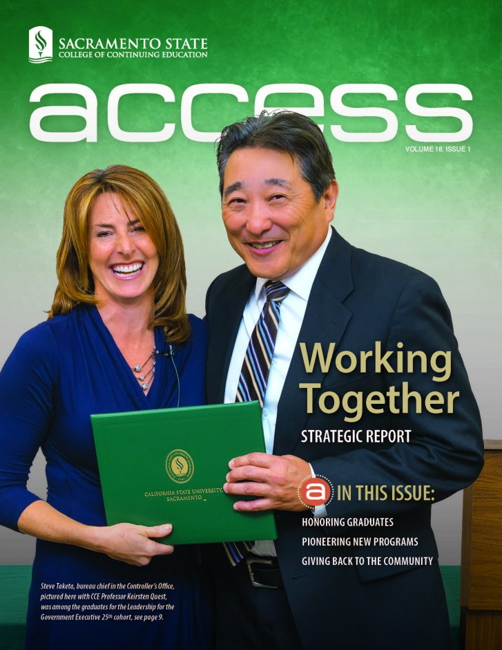 Access Magazine cover, Volume 18 Issue 1