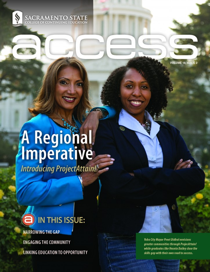 Cover from Access Magazine Vol. 18 Issue 2